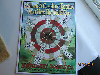 Montgomery Ward Co BullsEye, Jacobson Gasoline Engines Catalog, all sizes