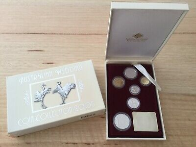 2005 Australian Wedding Coin Collection Proof Set
