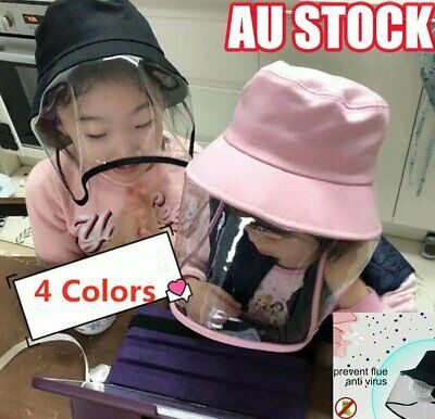 Child Kids Anti Flu Protection Hat with Mask Cover Anti Flu Outdoor Cap 4C