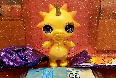 Poopsie Sparkly Critters RAY Sun Figure With Slime Out Of Can