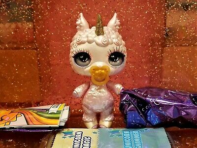 Sparkly Critters FLUFF Poopsie Slime Surprise Lamb Figure Out Of Can