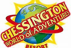 Chessington World of Adventures 2 x tickets 8 July 2020 8/7/20 adult or child