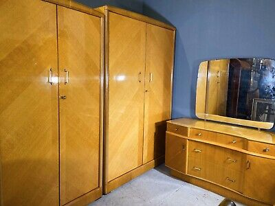 Vintage Golden Key Furniture Bedroom Suite