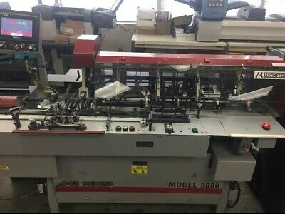 Mailcrafter 9800 Edge Series 6 x 9, #10 Turnover Inserter with 4 Stations