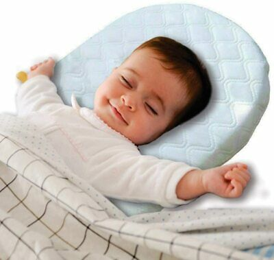 Baby Wedge Pillow Anti Reflux Colic Cushion For Pram Crib Cot Bed Flat Head Foam