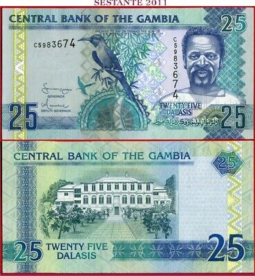 GAMBIA   -   25 DALASIS nd 2006/13  -  P 27a  -   FDS / UNC