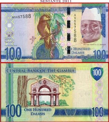 GAMBIA  -   100  DALASIS nd 2015  -   P 35 -  FDS / UNC