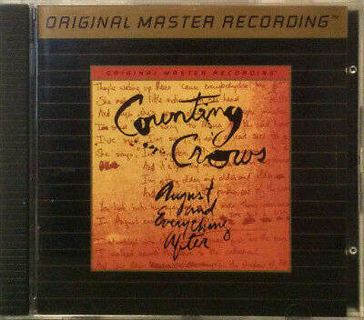Counting Crows - August and Everything After  MFSL Gold CD (Remastered)