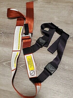 Authentic Amsafe Kids Fly Safe Cares Airplane Safety Harness Used