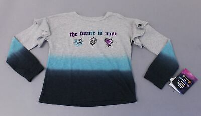 Disney D-Signed Descendants Girls L/S The Future Is Mine T-Shirt BF5 Gray Large