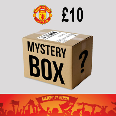 Random items of Job Lot Stock from our warehouse Manchester United £10 Box