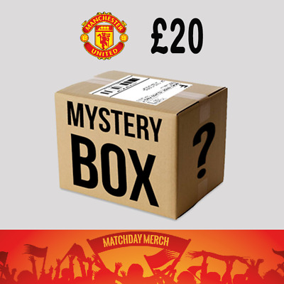 Random Items of Job Lot Stock from our warehouse - Manchester United £20 Box