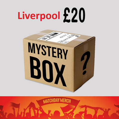 Random Items of Job Lot Stock from our warehouse - Liverpool FC £20 Box