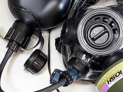 SGE 400/3 BB Gas Mask / Respirator -NBC w/ Drink Option- NEW - Made in 2020