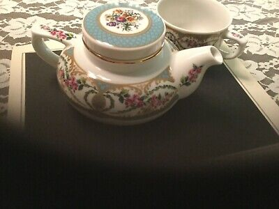 ANDREA by Sadek Tea For One Set Fine Porcelain JAPAN Tableware