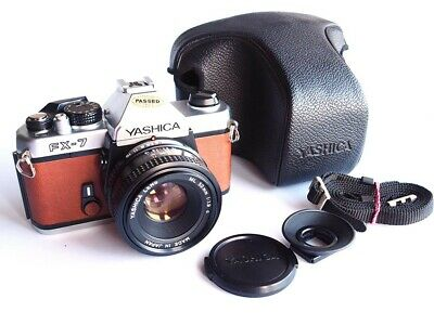 Yashica Fx-7 / FX-3 Silver model /  Yashica Lens ML 50mm 1:1.9 c