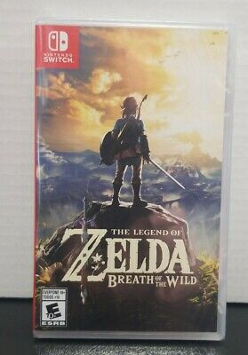 Legend of Zelda: Breath of the Wild (Nintendo Switch, 2017) FAST FREEE SHIPPING
