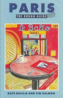 Paris:The Rough Guide (The rough guides), Baillie, Kate, Very Good, Paperback