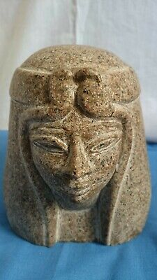 Rare Antique Ancient Egyptian Statue Good of granite. Egyptian queen the (Tiye)