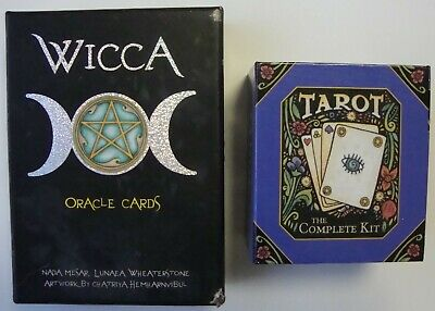 Wicca Oracle Cards & Tarot The Complete Kit Mini Deck