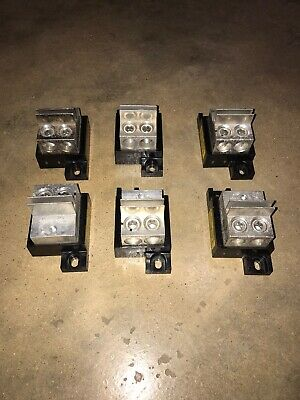 BUSS 1BS102 Fuse Block Holder Used (Lot of 6)