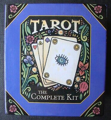 Tarot The Complete Kit Mini Cards & Guide Book Set Brand New
