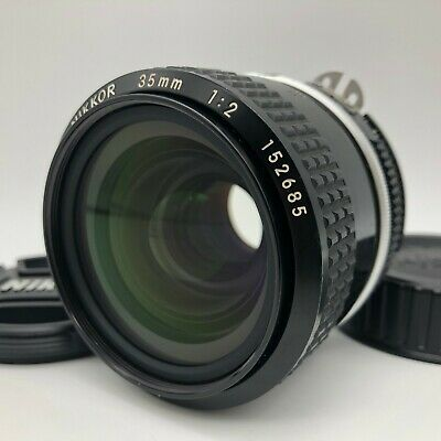 Nikon Ai Nikkor 35mm f/2 MF Wide Angle Lens【Excellent】from Japan