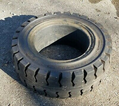 "250x15x7.5"" Solid Forklift Tire Solidmatic - NEW Old Stock"