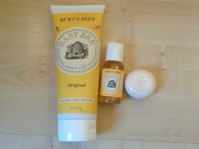 Burt's Bees Baby Lotion, Oil + Soap