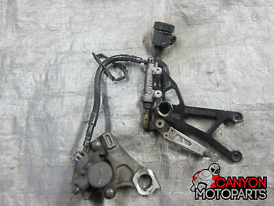 07 08 Yamaha YZF R1 Woodcraft CFMotorsports Right Rearset