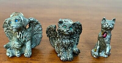 Cats & Dog, Pewter, Sunglo