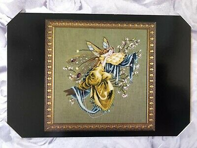 Cross Stitch Chart Mirabilia LILLY OF THE WOODS MD80 NIP