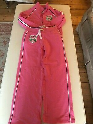 Girls Next Sports 1982 Supercute Bright Prink Tracksuit, 10 years