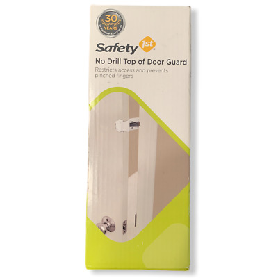 Safety 1st No Drill Top Of Door Lock Guard Baby Toddler Infant Children Proof