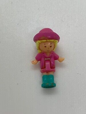 Polly Pocket 'Polly' Funtime Clock Pink Variation Replacement Doll