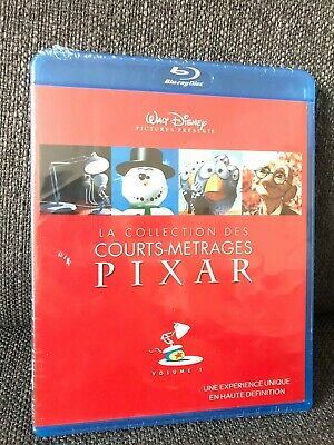 Blu-ray Collection courts-metrages PIXAR Volume 1 NEUF SOUS BLISTER