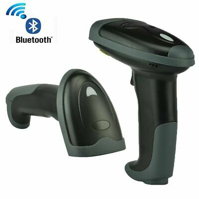 USB Wired/2.4G Wireless/Bluetooth Barcode Scanner for iPhone PC Android iPad