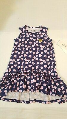 Juicy Couture Girls Pink Hearts  Dress    Size 3T  Sleeveless    #3