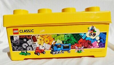 Lego Yellow Brick Empty Storage Box Bin Classic 2015 Large Container Only 10696