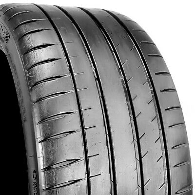 Michelin Pilot Sport 4S 245//40R18 ZR 97Y Used Tire 8-9//32