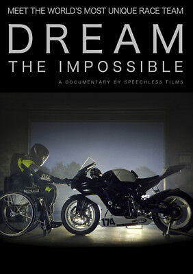 Dream the Impossible DVD (2017) Tom Long cert E ***NEW*** FREE Shipping, Save £s