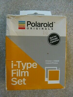 Polaroid Originals Color + B&W Instant Film Set for i-Type Prod. Dated 05/18