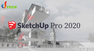 🔥2020 -Sketchup Pro - Complete Version for 2 PC- Life time - Download Only