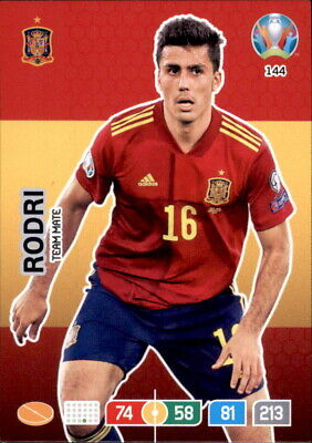 Panini Adrenalyn XL Euro 2020 144 - Rodri - Team Mate