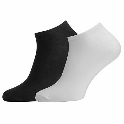 36 Pairs Mens Womens Trainer Liner Ankle Cotton Rich Sports Gym Socks UK LOT