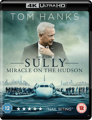 Sully - Miracle On the Hudson Blu-ray (2017) Tom Hanks, Eastwood (DIR) cert 12
