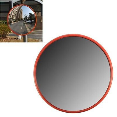 5X(30Cm Wide Angle Security Road Mirror Curved for Indoor Burglar Outdoor S M9M4