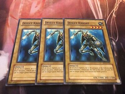 2x Insect Knight FET-EN004 Common NM Flaming Eternity Yugioh