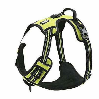 Dog Harness No-Pull Pet Control Adjustable Reflective Collar Soft Vest Outdoor