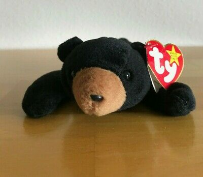 """BLACKIE ***TY BEANIE BABY*** Style 4011 approx 8/"""""""